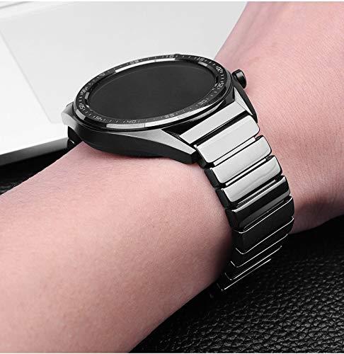 S`good Horlogebandjes toepassen op keramische riem voor Samsung Galaxy Horloge 46mm Band Gear S3 Frontier 22 Mm Armband
