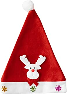 Adult Christmas Hat Sequin Christmas Hat Christmas Day Decoration Party Dress Up Antlers Christmas Hats