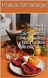 Wie man einen Gartentisch mit geteilter Tischplatte selber baut: Ausziehtisch (Gartentisch) mit geteilter Tischplatte