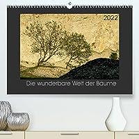 Baeume quer (Premium, hochwertiger DIN A2 Wandkalender 2022, Kunstdruck in Hochglanz): Baeume und Waelder sind unser wunderbaren Wegbegleiter durch die Jahre (Monatskalender, 14 Seiten )