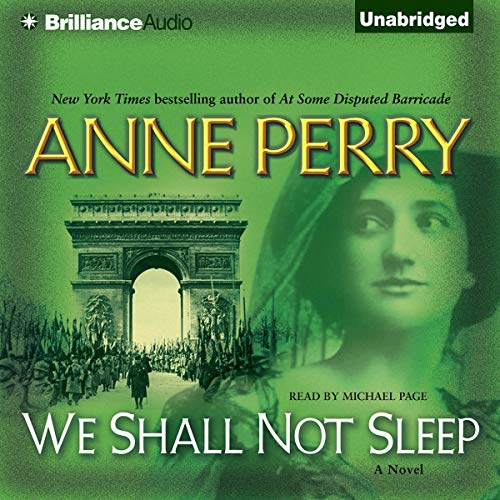 We Shall Not Sleep audiobook cover art