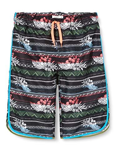 NAME IT Jungen NKMZAMANS SURF Shorts Badehose, Black, 140
