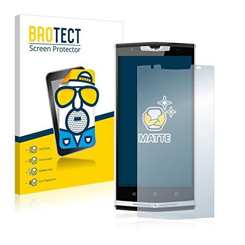BROTECT 2X Entspiegelungs-Schutzfolie kompatibel mit Oukitel K10000 Pro Bildschirmschutz-Folie Matt, Anti-Reflex, Anti-Fingerprint