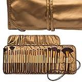 MISS & MAM Professional Makeup Brush Set 24 Pcs, Makeup Brushes for Women