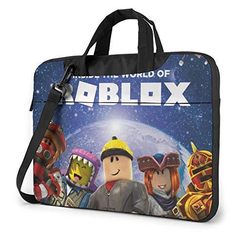 Ro_Blox Llaptop Bag 15.6 Inch Briefcase Shoulder Bag Satchel Tablet Bussiness Carrying Handbag Laptop Sleeve