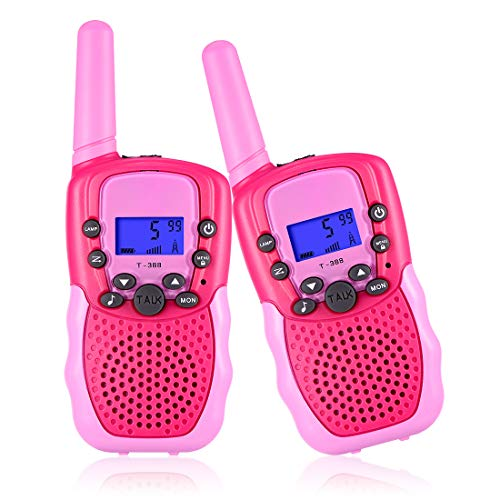 Selieve Toys for 3-12 Year Old Girls Boys, Walkie Talkies for Kids 22 Channels 2 Way Radio Toy with Backlit LCD Flashlight, 3 Miles Range for Outside, Camping, Hiking