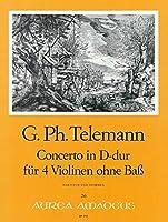 TELEMANN - Concierto en Re Mayor para 4 Violines (Morgan)