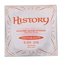 HISTORY HEGSH046 エレキギター弦 E-6th .046 バラ弦1本 (ヒストリー)