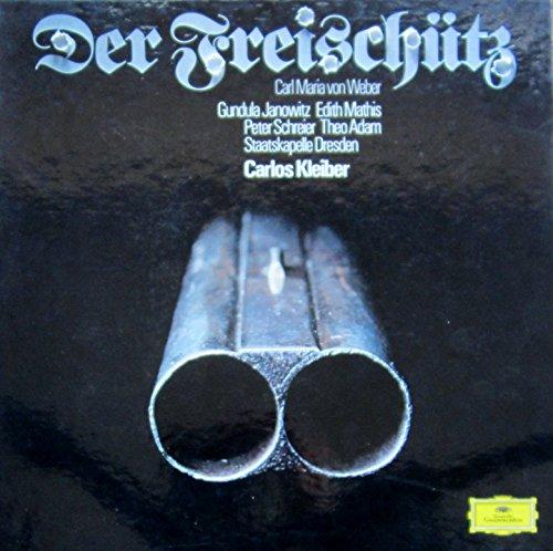 Weber: DER FREISCHÜTZ (Gesamtaufnahme aus dem Jahre 1973) [Vinyl Schallplatte] [3 LP Box-Set]