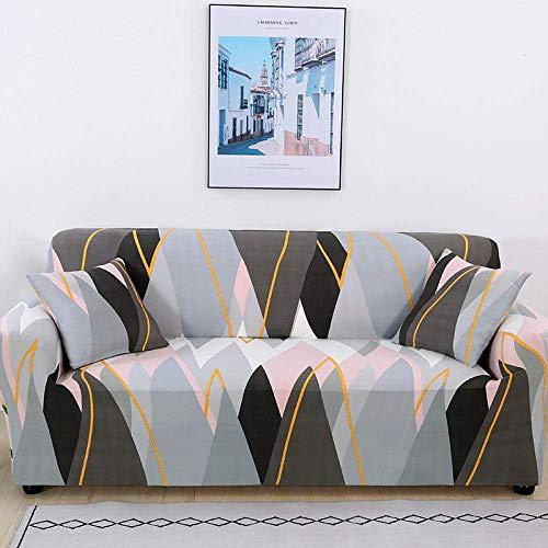 L.TSA Funda de sofá elástica, elástica para Sala de Estar Funda de sofá de Licra Antideslizante Funda elástica-20_235-300cm, Protector de sofá Antideslizante