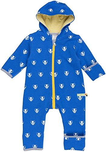 loud + proud Baby-Unisex Overall Woll-Anteil Schneeanzug, Blau (Pacific Pa), 92 (Herstellergröße: 86/92)