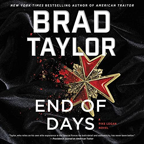 End of Days Audiobook By Brad Taylor cover art