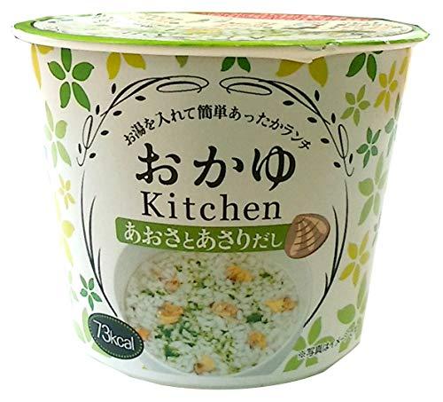 【ケース販売】カップおかゆKitchen あおさとあさりだし 20.8g(12個入)