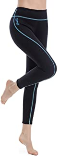 GoldFin Wetsuit Pants Women, 2mm Neoprene Pants Keep Warm for Water Aerobics Diving Surfing Swimming Snorkeling Scuba Kaya...