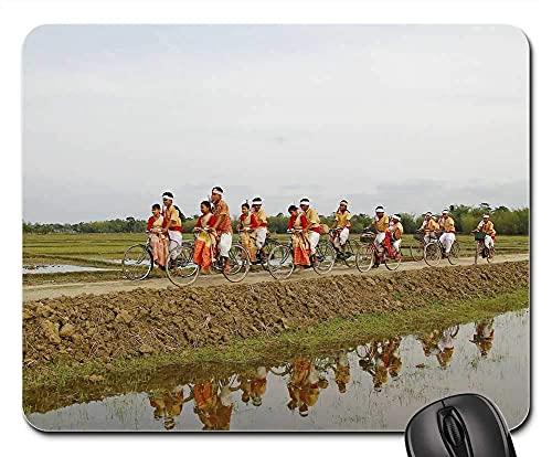 Mauspad - Bihu Indien Assam Reise Fahrrad Fahrrad Fahrrad