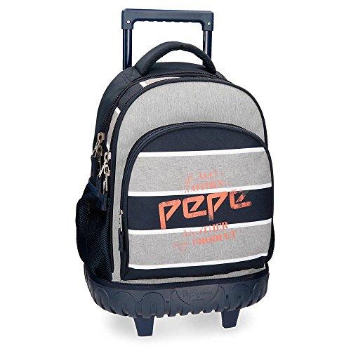 Mochila con ruedas Pepe Jeans Pierre 2R