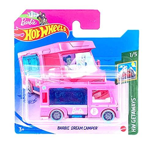 Hot Wheels Barbie Dream Camper HW Getaways 1/5 2021 (21/250) Short Card