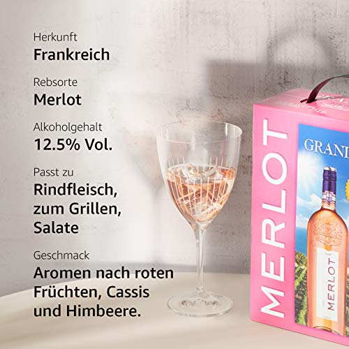 Grand Sud Merlot Rose BIB Trocken (1 x 3 l) - 6