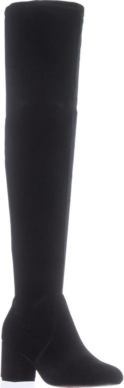 INC International Concepts Womens Rikkie2 Closed Toe, Black Velvet, Size 9.0