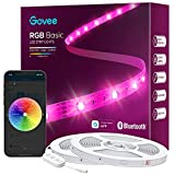 Govee 100ft LED Strip Lights, Bluetooth RGB LED Lights with App Control, Bright 5050 LEDs, 64 Scenes and Music Sync Lights Strip for Bedroom, Living Room, Party, ETL Listed Adapter (2 Rolls of 50ft)