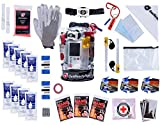 GETREADYNOW | 72-Hour Grab & Go Emergency Kit | Essential Emergency Supplies for 3 Days - Hurricane, Earthquake, Tornado Disaster Preparedness Kit. Heavy Duty Clear Waterproof Dry Bag.