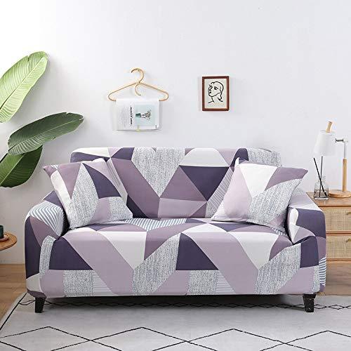 WXQY Patrón Funda de sofá Sala de Estar Funda de sofá sofá Toalla Silla Esquina Funda de sofá Funda de sofá en Forma de L Funda de sillón A15 1 Plaza