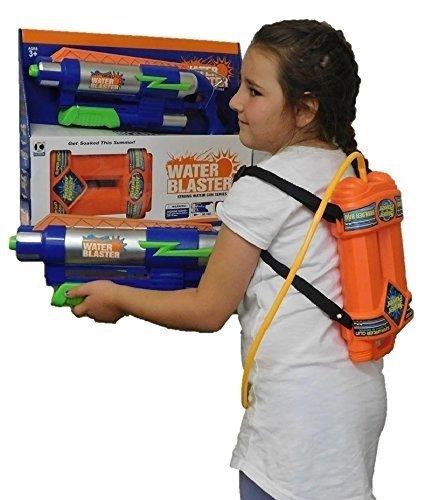 Allkindathings Children large Super Soaker Action Water Gun Pistol Garden Fun Blaster Kids Toy