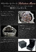 サルバトーレ マーラ クロノグラフ 腕時計 SM8005-BKPG ブラック【メンズ】 [並行輸入品]