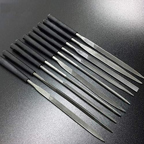XuBa 10 Stks Gitaar Frets/Noten Gepolijst Bestand Rasp Slijpen Mes Professionele Reparatie Burnish Tool voor Gitaar Banjo Ukulele Mandolin