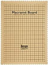Beadaholique MWB20 Macrame Board, Brown
