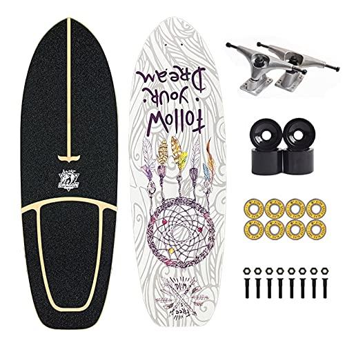 Carving Skateboard Pumpping Skateboard Surfskate Surf Skates