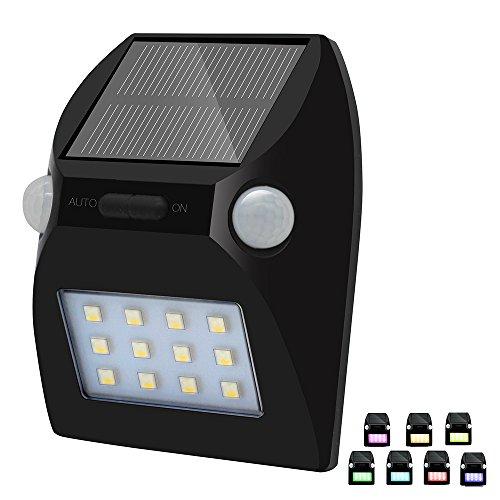 Matone Lampe Solaire LED Sans Fil, Luminaire Exterieur Détecteur de Mouvement avec Détection de 180 Degrés