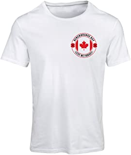 lepni.me Camiseta Mujer Remembrance Day Poppy - Quotes - Lest We Forget