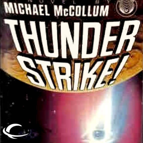 Thunder Strike! audiobook cover art