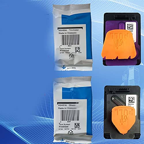 Parte Impresora M0H50A M0H51A Cabezal de impresión en Forma para HP GT5800 5810 5820 Tatero de Tinta 300 310 311 315 318 319 400 410 411 415 418 419 Plazo de impresión (Color : M0H50A Color)