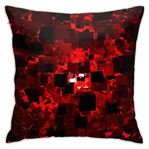 Throw Pillow Cover Cushion Cover Pillow Cases Decorative Linen Abstract Cinema for Home Bed Decor Pillowcase,45x45CM