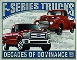 Desperate Enterprises Ford F-Series Trucks Tin Sign, 16' W x 12.5' H