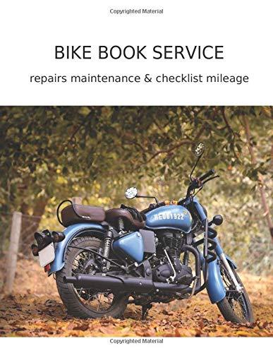 Royal Enfield Bike Service Book: Repairs Maintenance & Checklist Milage