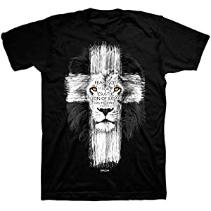 Lion Cross T-Shirt – Christian Fashion Gifts