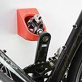 cycloc bike rack - Super Hero Bicycle Wall Mount Ultimate Cycle Storage Rack Bicycle compatible with CYCLOC