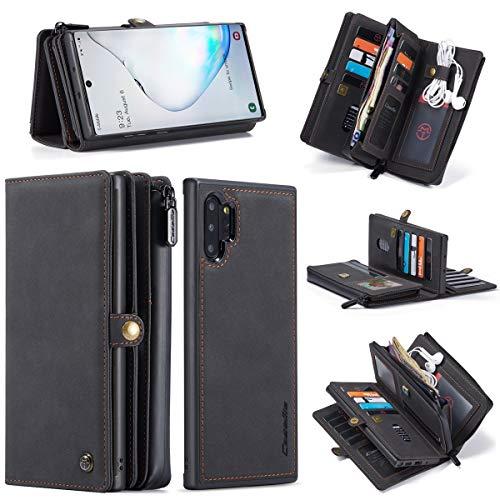 Accesorios Electrónicos For el cuero de Samsung Nota 10 + cartera, extraíble...