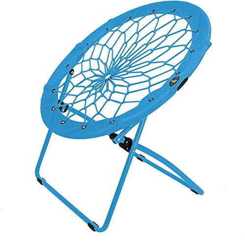 32' Bunjo Bungee Kids Chair, Blue