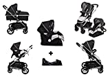 D'bebé Carriola Travel System Crown Negro