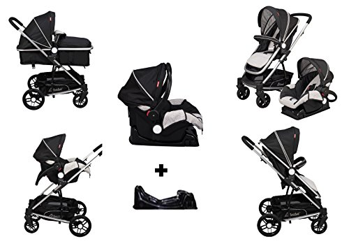 D'bebé Carriola Travel System Crown color Negro