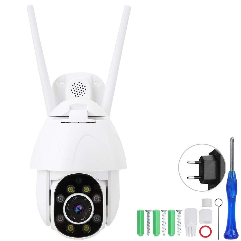 WiFi de Doble v/ía de Audio 1080P IR Monitor de Video de visi/ón Nocturna para vigilancia de beb/és BTIHCEUOT C/ámara IP de Seguridad Enchufe de la UE