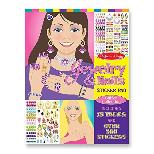 Jewelry & Nails Sticker Pad