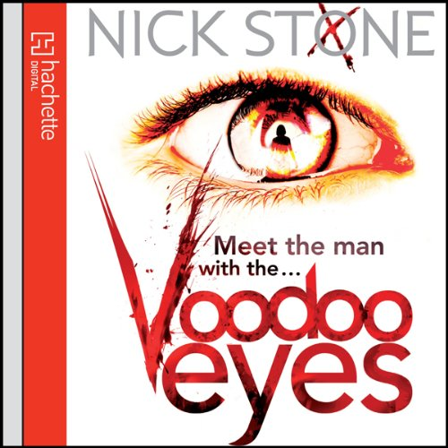 Voodoo Eyes audiobook cover art