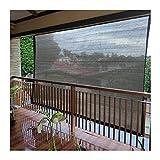 CHAOXIANG Neto De Sombreado De Sol, Exterior Balcón Jardín Red De Privacidad Valla Neto, Polietileno Material Anti-envejecimiento Resistente A Tirones, Tamaño Personalizado (Color : A, Size : 3x4m)