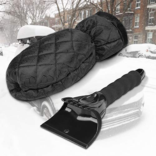 Sylanda IJskrabber met handschoen, voor de auto, krabber, ijskrabber, ijskrabber, sneeuwschraper, ijskrabber, ijskrabber voor auto voorruit achterruit zijruiten