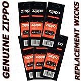 Genuine Zippo Replacement Wicks (6 Pack)